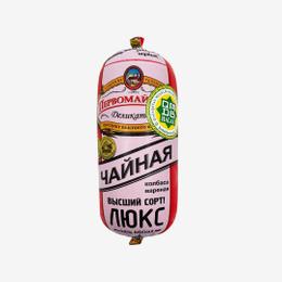 Колбаса Первомайские Чайная Деликатесы Люкс вареная в/у 460 г