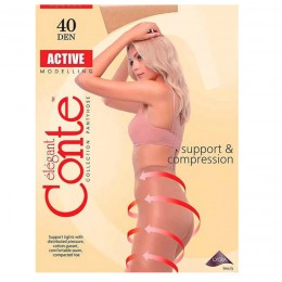 "Колготки ""Conte"" Active Soft 40 DEN 2=S NATURAL"
